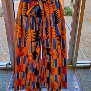 African Print Ankara Palazzo Maxi pants