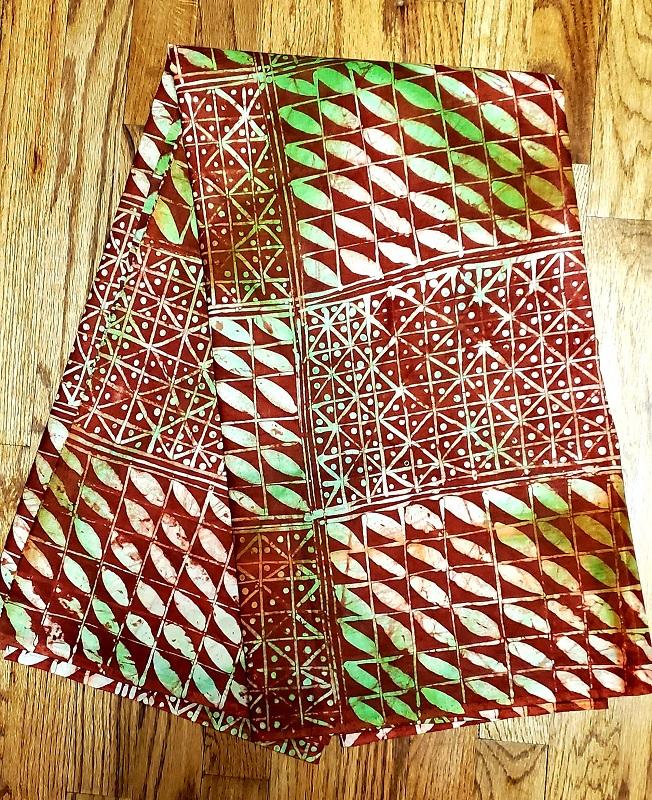 Cotton Batik Adire Brocade Dress Fabric Batik Brocade Fabric Wholesale adire 4.5 yards 4.5 yards,Nigerian Adire Brocade African Fabric